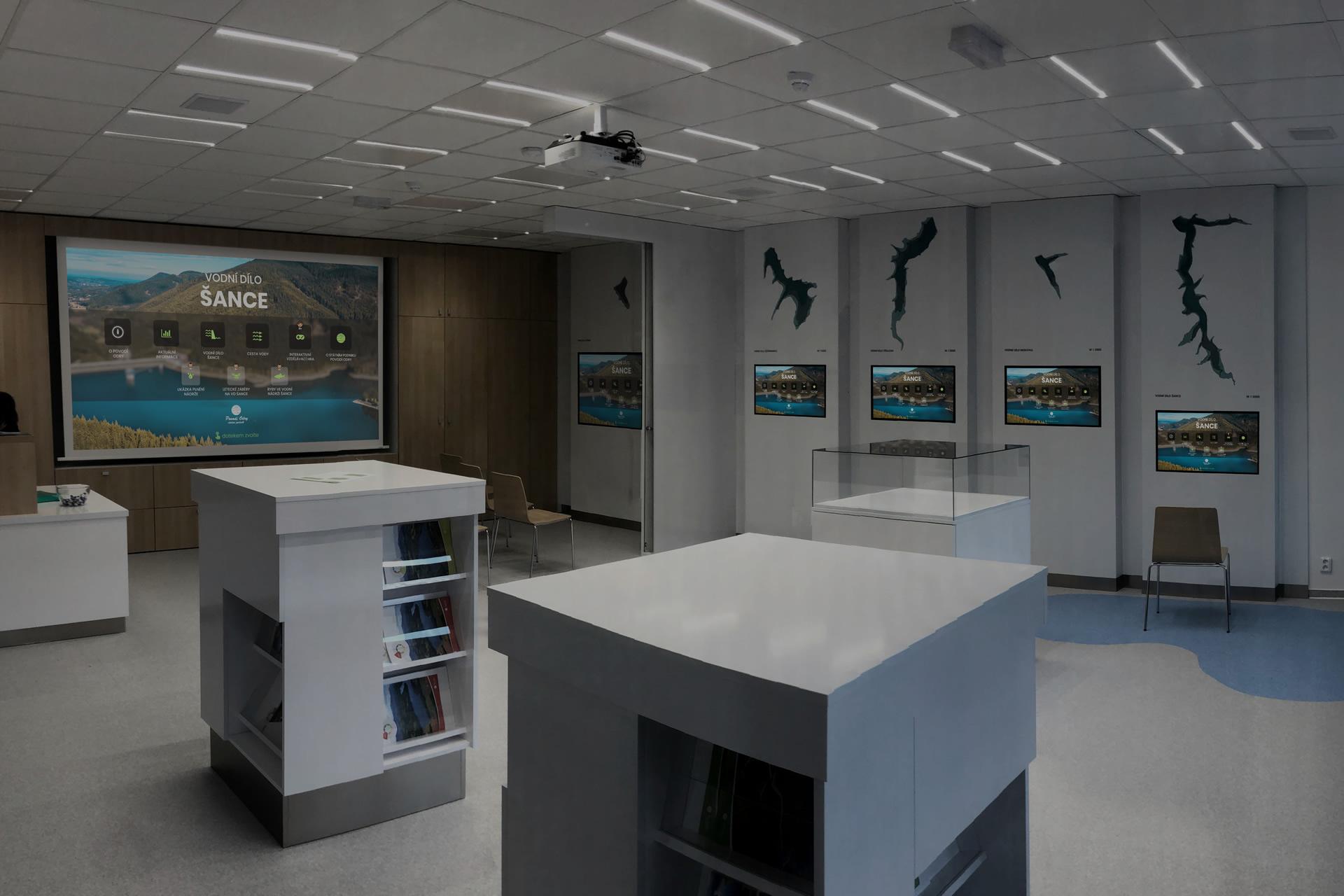 Inofcentrum interiér